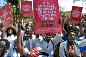 A nationwide strike involving thousands of Kenyan doctors and nurses began on December 5 and has left public hospitals closed and patients unable to get basic medical care